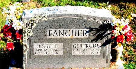 FANCHER, GERTRUDE - Carroll County, Arkansas | GERTRUDE FANCHER - Arkansas Gravestone Photos