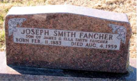 FANCHER, JOSEPH SMITH - Carroll County, Arkansas | JOSEPH SMITH FANCHER - Arkansas Gravestone Photos