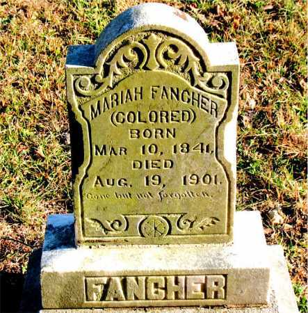 FANCHER, MARIAH - Carroll County, Arkansas | MARIAH FANCHER - Arkansas Gravestone Photos