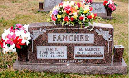 FANCHER, TIM B - Carroll County, Arkansas | TIM B FANCHER - Arkansas Gravestone Photos