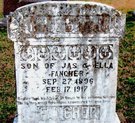 FANCHER, W J BRYAN - Carroll County, Arkansas   W J BRYAN FANCHER - Arkansas Gravestone Photos