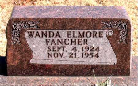 FANCHER, WANDA - Carroll County, Arkansas | WANDA FANCHER - Arkansas Gravestone Photos