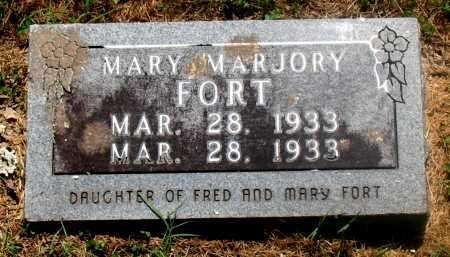 FORT, MARY MARJORY - Carroll County, Arkansas   MARY MARJORY FORT - Arkansas Gravestone Photos