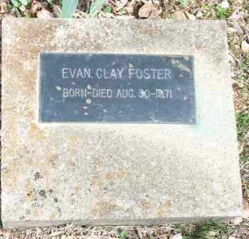 FOSTER, EVAN CLAY - Carroll County, Arkansas | EVAN CLAY FOSTER - Arkansas Gravestone Photos