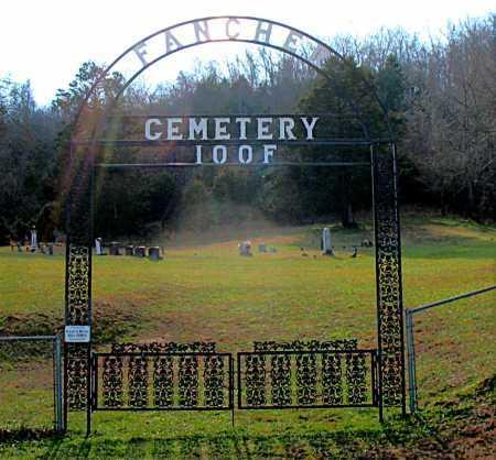 *FANCHER CEMETERY GATE,  - Carroll County, Arkansas |  *FANCHER CEMETERY GATE - Arkansas Gravestone Photos