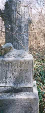 HALE, JOHN TATE - Carroll County, Arkansas   JOHN TATE HALE - Arkansas Gravestone Photos