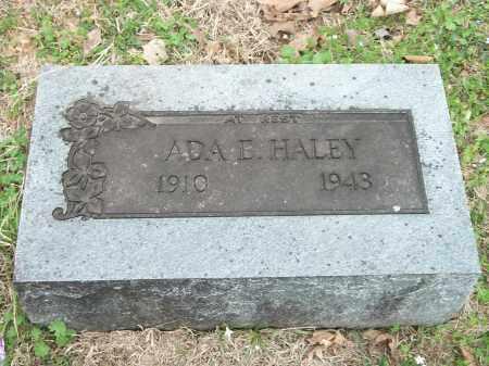 HALEY, ADA ETHEL - Carroll County, Arkansas   ADA ETHEL HALEY - Arkansas Gravestone Photos