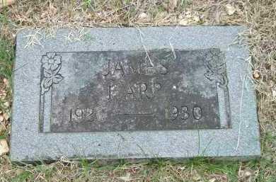 HARP, JAMES - Carroll County, Arkansas | JAMES HARP - Arkansas Gravestone Photos