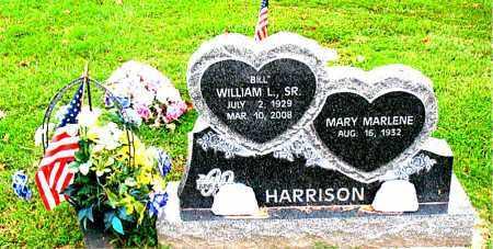 HARRISON,  SR, WILLIAM  L.  (BILL) - Carroll County, Arkansas | WILLIAM  L.  (BILL) HARRISON,  SR - Arkansas Gravestone Photos