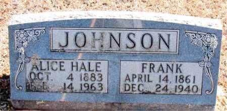 JOHNSON, ALICE - Carroll County, Arkansas | ALICE JOHNSON - Arkansas Gravestone Photos