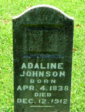 JOHNSON, ADALINE - Carroll County, Arkansas | ADALINE JOHNSON - Arkansas Gravestone Photos