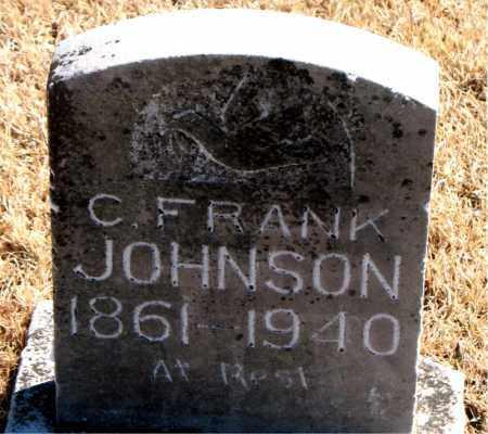 JOHNSON, C. FRANK - Carroll County, Arkansas   C. FRANK JOHNSON - Arkansas Gravestone Photos