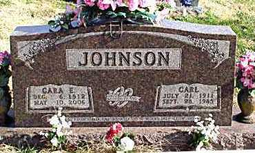 JOHNSON, CARA  E. - Carroll County, Arkansas | CARA  E. JOHNSON - Arkansas Gravestone Photos