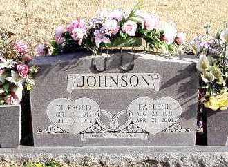 JOHNSON, CLIFFORD - Carroll County, Arkansas | CLIFFORD JOHNSON - Arkansas Gravestone Photos
