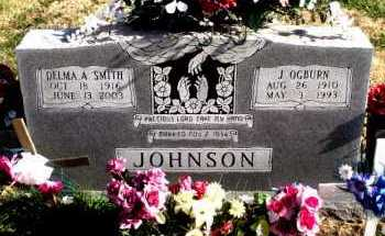 JOHNSON, J.  OGBURN - Carroll County, Arkansas | J.  OGBURN JOHNSON - Arkansas Gravestone Photos