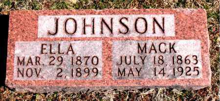 JOHNSON, MACK - Carroll County, Arkansas | MACK JOHNSON - Arkansas Gravestone Photos