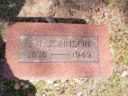 JOHNSON, F. I. - Carroll County, Arkansas | F. I. JOHNSON - Arkansas Gravestone Photos