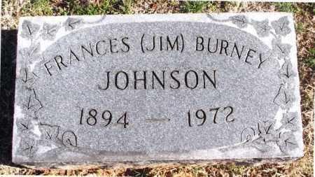 "JOHNSON, FRANCES BURNEY ""JIM"" - Carroll County, Arkansas 