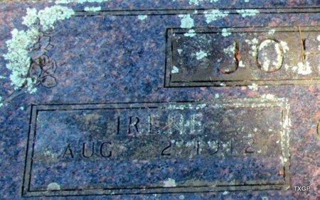 JOHNSON, IRENE L (CLOSEUP) - Carroll County, Arkansas | IRENE L (CLOSEUP) JOHNSON - Arkansas Gravestone Photos