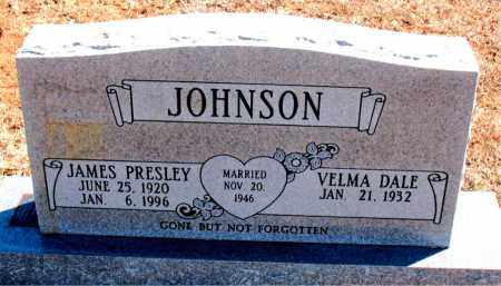 JOHNSON, JAMES PRESLEY - Carroll County, Arkansas | JAMES PRESLEY JOHNSON - Arkansas Gravestone Photos