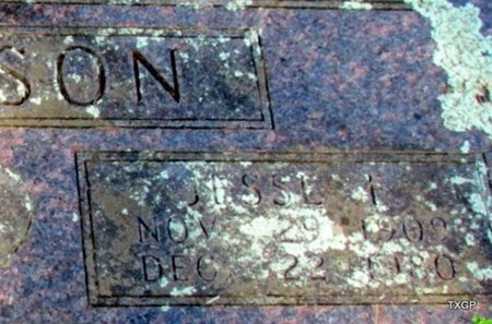JOHNSON, JESSE F (CLOSEUP) - Carroll County, Arkansas | JESSE F (CLOSEUP) JOHNSON - Arkansas Gravestone Photos