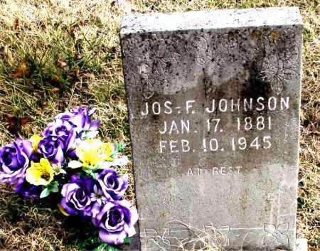 JOHNSON, JOS  F. - Carroll County, Arkansas | JOS  F. JOHNSON - Arkansas Gravestone Photos