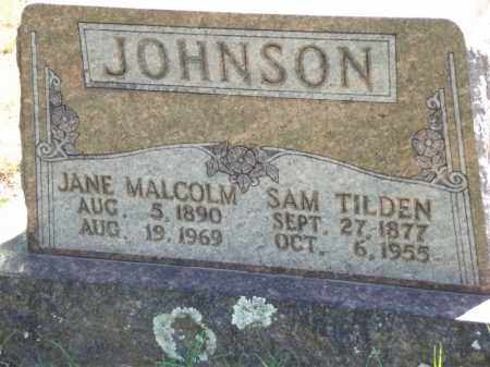JOHNSON, SAM TILDEN - Carroll County, Arkansas | SAM TILDEN JOHNSON - Arkansas Gravestone Photos