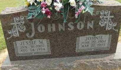 JOHNSON, JOHNIE - Carroll County, Arkansas | JOHNIE JOHNSON - Arkansas Gravestone Photos
