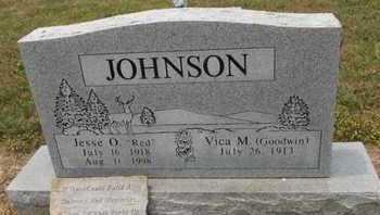 JOHNSON, JESSE O - Carroll County, Arkansas | JESSE O JOHNSON - Arkansas Gravestone Photos