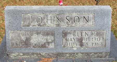 JOHNSON, GLEN T - Carroll County, Arkansas | GLEN T JOHNSON - Arkansas Gravestone Photos
