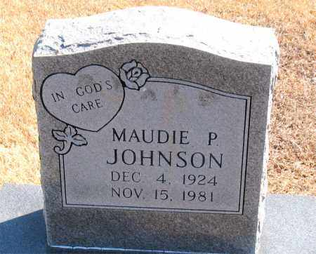 JOHNSON, MAUDIE P. - Carroll County, Arkansas | MAUDIE P. JOHNSON - Arkansas Gravestone Photos