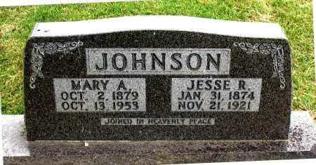 JOHNSON, MARY  A. - Carroll County, Arkansas | MARY  A. JOHNSON - Arkansas Gravestone Photos