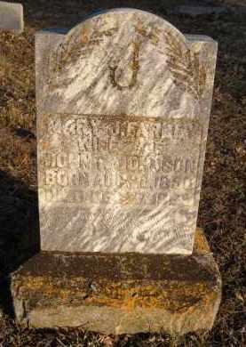 JOHNSON, MARY J - Carroll County, Arkansas | MARY J JOHNSON - Arkansas Gravestone Photos