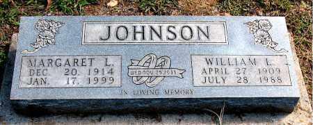 JOHNSON, MARGARET L - Carroll County, Arkansas | MARGARET L JOHNSON - Arkansas Gravestone Photos