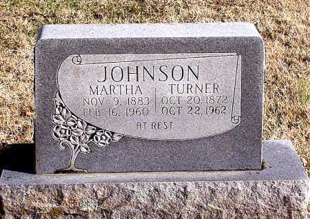 JOHNSON, MARTHA - Carroll County, Arkansas | MARTHA JOHNSON - Arkansas Gravestone Photos