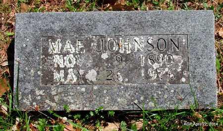 JOHNSON, MAE - Carroll County, Arkansas | MAE JOHNSON - Arkansas Gravestone Photos