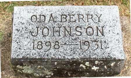 JOHNSON, ODA - Carroll County, Arkansas | ODA JOHNSON - Arkansas Gravestone Photos