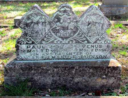 JOHNSON, PAUL - Carroll County, Arkansas | PAUL JOHNSON - Arkansas Gravestone Photos