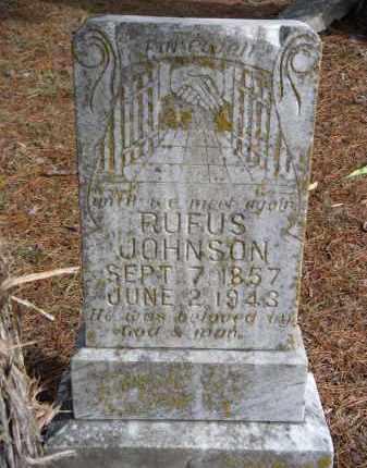 JOHNSON, RUFUS - Carroll County, Arkansas   RUFUS JOHNSON - Arkansas Gravestone Photos
