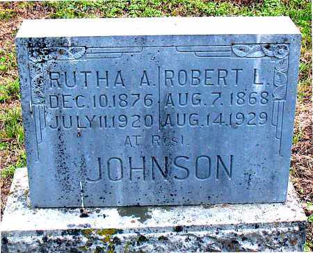 JOHNSON, ROBERT L - Carroll County, Arkansas | ROBERT L JOHNSON - Arkansas Gravestone Photos