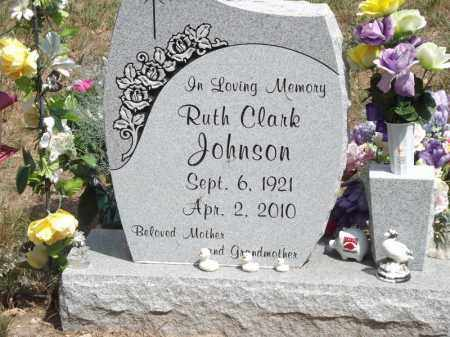 JOHNSON, RUTH - Carroll County, Arkansas | RUTH JOHNSON - Arkansas Gravestone Photos