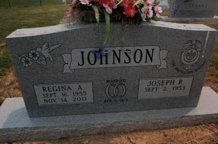 JOHNSON, REGINA A - Carroll County, Arkansas | REGINA A JOHNSON - Arkansas Gravestone Photos