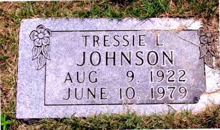 JOHNSON, TRESSIE L. - Carroll County, Arkansas | TRESSIE L. JOHNSON - Arkansas Gravestone Photos