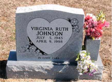 JOHNSON, VIRGINIA RUTH - Carroll County, Arkansas | VIRGINIA RUTH JOHNSON - Arkansas Gravestone Photos