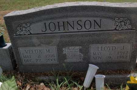 JOHNSON, LLOYD J - Carroll County, Arkansas | LLOYD J JOHNSON - Arkansas Gravestone Photos