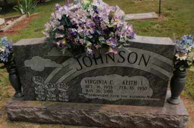 JOHNSON, VIRGINIA C - Carroll County, Arkansas | VIRGINIA C JOHNSON - Arkansas Gravestone Photos
