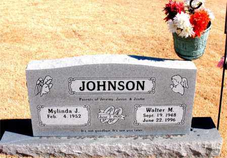 JOHNSON, WALTER M. - Carroll County, Arkansas | WALTER M. JOHNSON - Arkansas Gravestone Photos