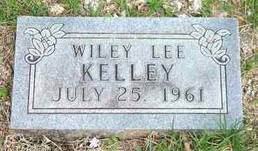 KELLEY, WILEY LEE - Carroll County, Arkansas | WILEY LEE KELLEY - Arkansas Gravestone Photos