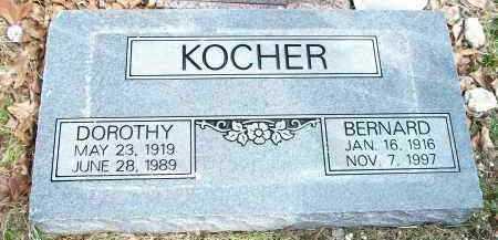 KOCHER, DOROTHY - Carroll County, Arkansas | DOROTHY KOCHER - Arkansas Gravestone Photos