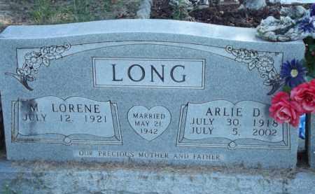 LONG, ARLIE D - Carroll County, Arkansas | ARLIE D LONG - Arkansas Gravestone Photos